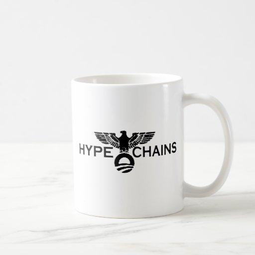 Hype&Chains Taza Básica Blanca