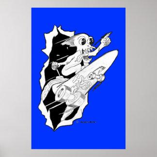 HYPE: Rocket Powered Skateboard Poster