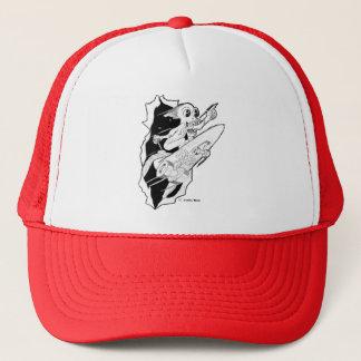 HYPE: Rocket Powered Skateboard Trucker Hat