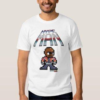 Hypeman! gamingworldunited.com t shirt