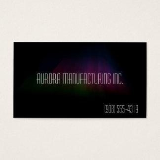 Hyper Black Collection: Dark Aurora Business Card
