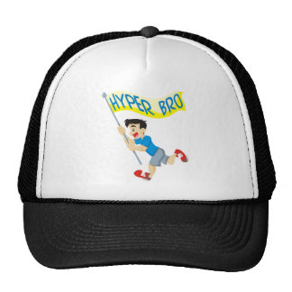 Hyper Brother Running Trucker Hat