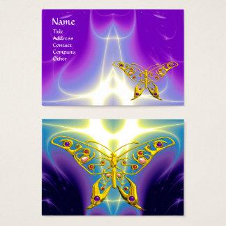 HYPER BUTTERFLY LIGHT WAVES,Pink,Purple,Violet Business Card
