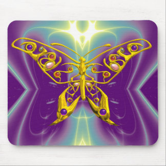 HYPER BUTTERFLY MOUSE PAD