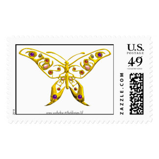 HYPER BUTTERFLY POSTAGE STAMP