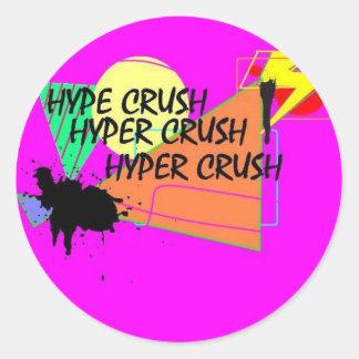 Hyper Crush Sticker