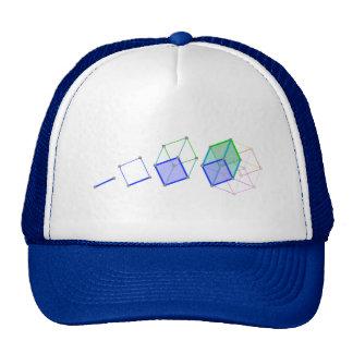 Hyper Cube -- cool science in 4D! Trucker Hat