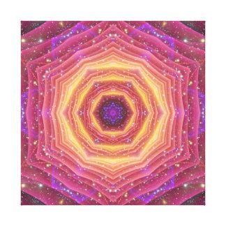 Hyper Gate Mandala Canvas Print