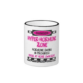 HYPER-HORMONE Zone Warning Mug