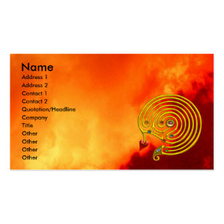 HYPER LABYRINTH Double-Sided STANDARD BUSINESS CARDS (Pack OF 100)