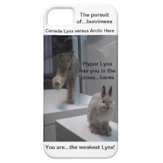 Hyper Lynx runs (a)cross-hare iPhone SE/5/5s Case
