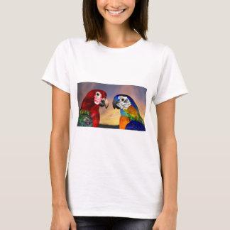 HYPER PARROTS /RED AND BLUE ARA T-Shirt