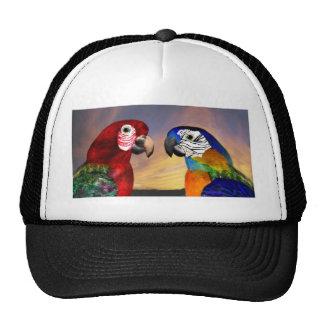 HYPER PARROTS /RED AND BLUE ARA TRUCKER HAT