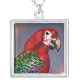 HYPER PARROTS /  RED ARA PERSONALIZED NECKLACE