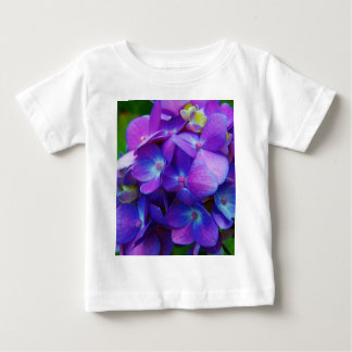 Hyper-Purple Hydrangea Baby T-Shirt