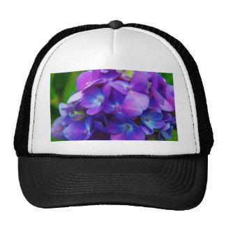 Hyper-Purple Hydrangea Trucker Hat