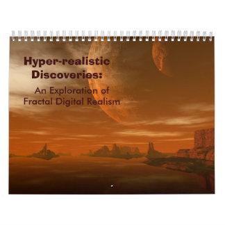 Hyper-realistic Discoveries (Huge) Wall Calendar