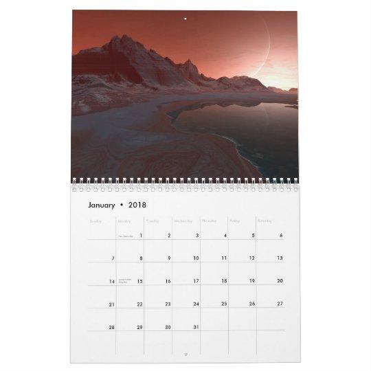 Hyper-realistic Discoveries (Huge) Calendar