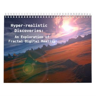 Hyper-realistic Discoveries Standard Calendars