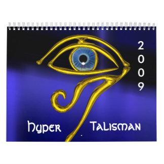 HYPER TALISMAN 2009 WALL CALENDAR