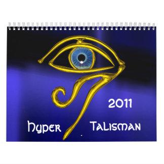 HYPER TALISMAN 2011 WALL CALENDARS