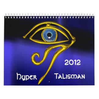 HYPER TALISMAN 2012 WALL CALENDAR
