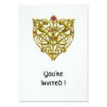 HYPER VALENTINE 5X7 PAPER INVITATION CARD