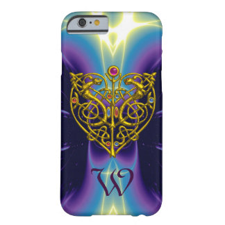 HYPER VALENTINE MONOGRAM  Purple Blue Barely There iPhone 6 Case