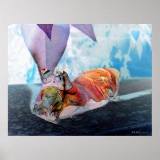 Hyper Vortex Snail Poster