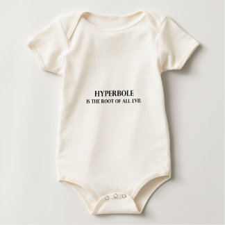 Hyperbole is the Root of all Evil Bodysuit