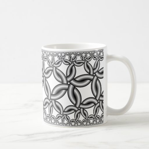 Hyperbolic 425 classic white coffee mug