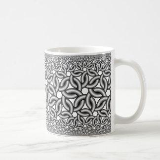 Hyperbolic ribbons 327 coffee mug