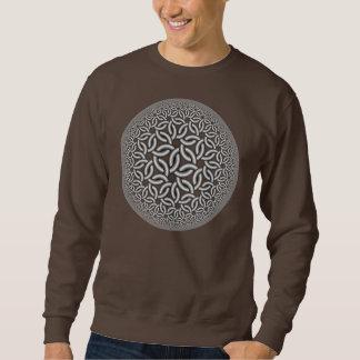 hyperbolic weave pullover sweatshirt