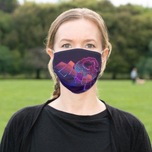 Hypercolor Psyche Face Mask