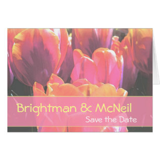 hypercolortulips save the date card