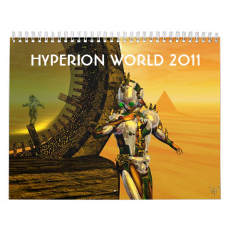 HYPERION WORLD 2011 WALL CALENDARS