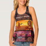 HYPERION WORLD SCIENCE FICTION Scifi Tank Top