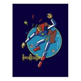 Hypermegaman postcard Sketcher