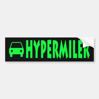Hypermiler Car Bumper Sticker