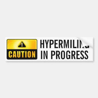 Hypermiling Bumper Sticker Bumper Sticker III