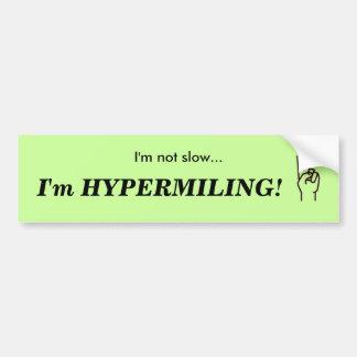 HYPERMILING Bumper Sticker Car Bumper Sticker