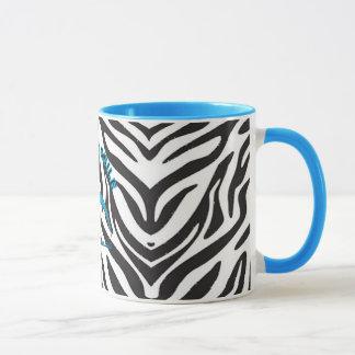 Hypermobile Zebra Print Ringer Mug