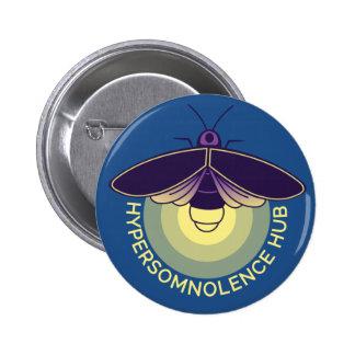 Hypersomnia Hub Flair Pinback Button