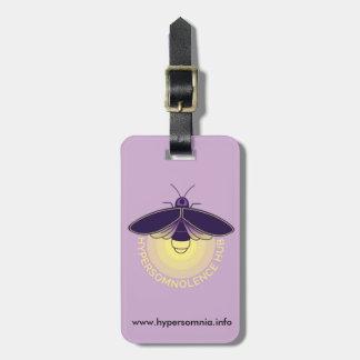 Hypersomnolence Hub Luggage Tag