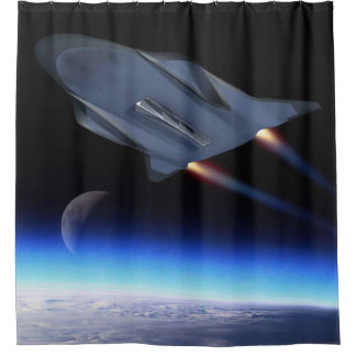 Hypersonic Cruise Vehicle Artist Concept Shower Curtain