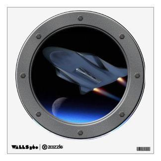 Hypersonic Cruise Vehicle Porthole Room Decals
