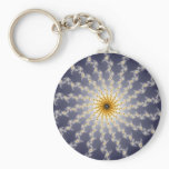 Hyperspace - Fractal Keychain