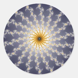 Hyperspace - pegatina del fractal