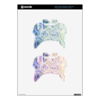 Hyperspeed Fractals XBox 360 Contoller Skins Xbox 360 Controller Skin