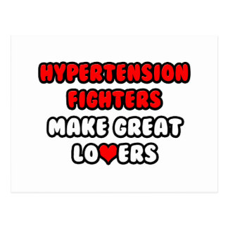 Hypertension Fighters Make Great Lovers Postcard